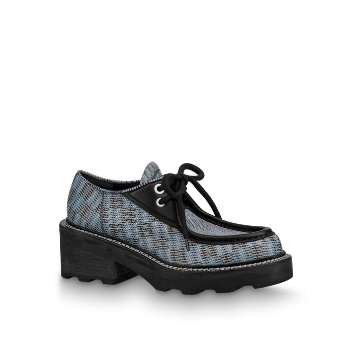 유럽직배송 루이비통 LOUIS VUITTON LV Beaubourg Platform Derby 1A5SP5