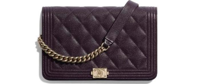 유럽직배송 샤넬 CHANEL BOY CHANEL Wallet On Chain AP1117B03851N8411