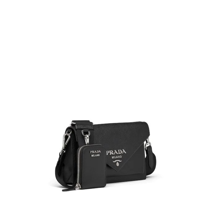 유럽직배송 프라다 사피아노 미니 숄더백 PRADA SAFFIANO LEATHER MINI ENVELOPE BAG 1BP020_2EVU_F0002_V_NOO