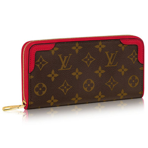 유럽직배송 루이비통 LOUIS VUITTON ZIPPY WALLET RETIRO CHERRY M61854