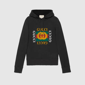 유럽직배송 구찌 GUCCI COTTON SWEATSHIRT WITH GUCCI LOGO 454585 X5J57 1015