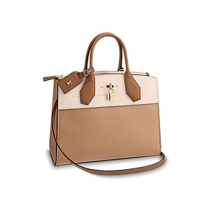 유럽직배송 루이비통 시티 스티머 LOUIS VUITTON CITY STEAMER MM PAPYRUS CREAM M53068