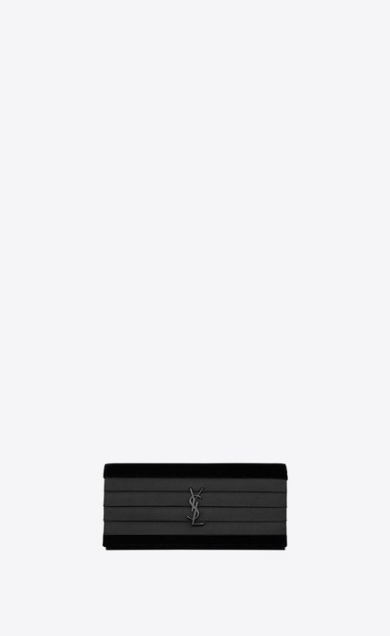유럽직배송 입생로랑 SAINT LAURENT SMOKING clutch in velvet 593168GVOI81000