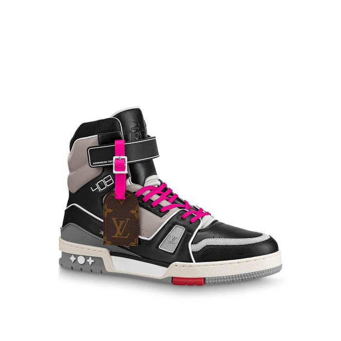 유럽직배송 루이비통 LOUIS VUITTON LV Trainer Sneaker Boot 1A7RTI