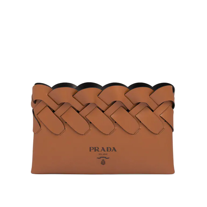 유럽직배송 프라다 클러치 PRADA Leather clutch 1BF107_2DI4_F0XKV_V_OOO