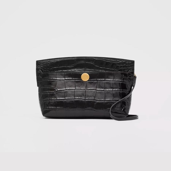 유럽직배송 버버리 클러치 BURBERRY Embossed Leather Society Clutch 80225861