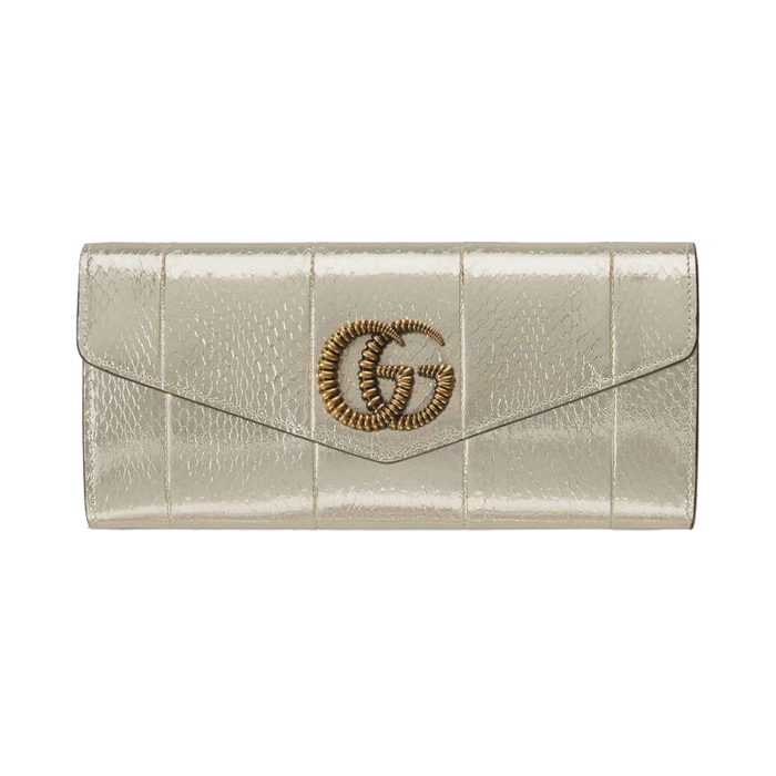 유럽직배송 구찌 클러치 GUCCI Broadway snakeskin clutch with Double G 594101L1N0T7100