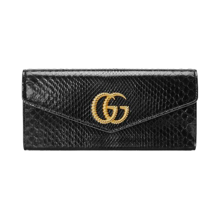 유럽직배송 구찌 클러치 GUCCI Broadway snakeskin clutch with Double G 594101LYQ0G1000