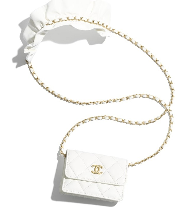 유럽직배송 샤넬 CHANEL Flap Card Holder with Chain AP1895B0436910601