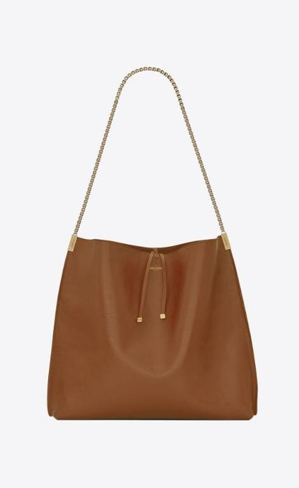유럽직배송 입생로랑 SAINT LAURENT suzanne medium hobo bag in smooth leather 63480411C0W6309
