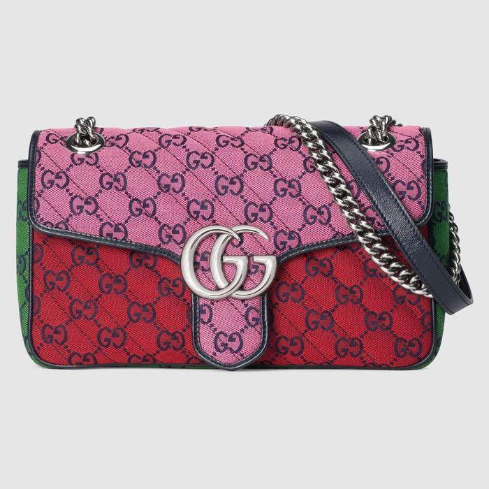 유럽직배송 구찌 GUCCI Gucci GG Marmont Multicolour small shoulder bag 4434972UZIN5281