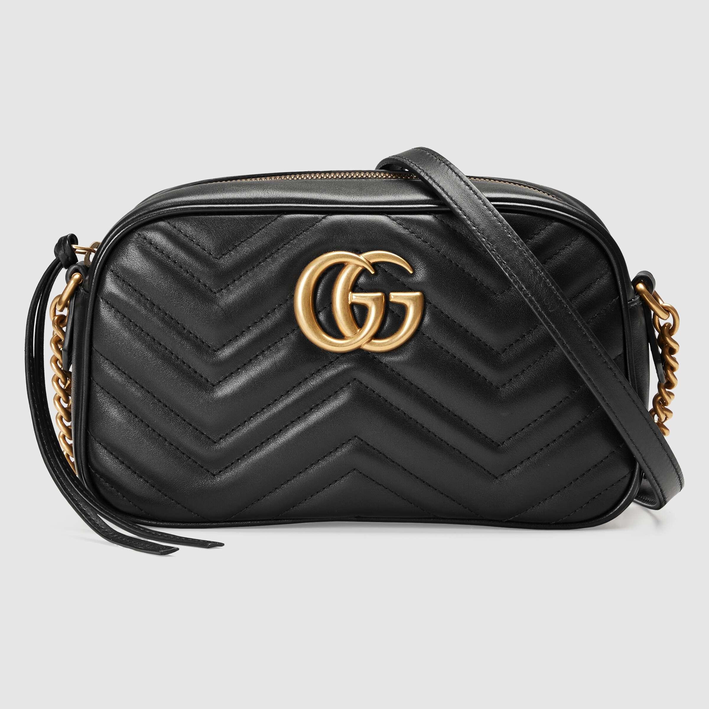 유럽직배송 구찌 GUCCI GG Marmont small matelassé shoulder bag 447632DTD1T1000