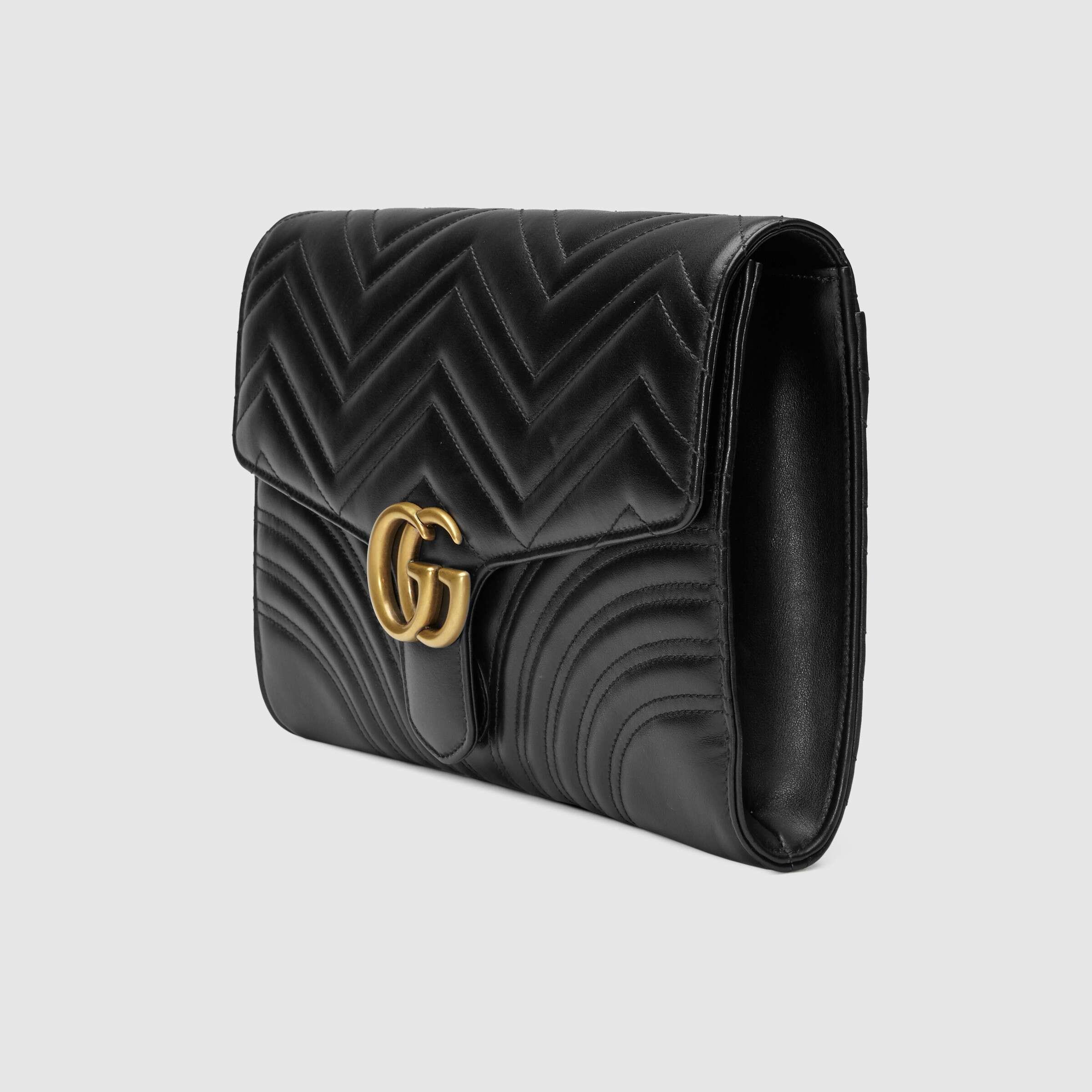 유럽직배송 구찌 GUCCI GG Marmont clutch 498079DTDIT1000