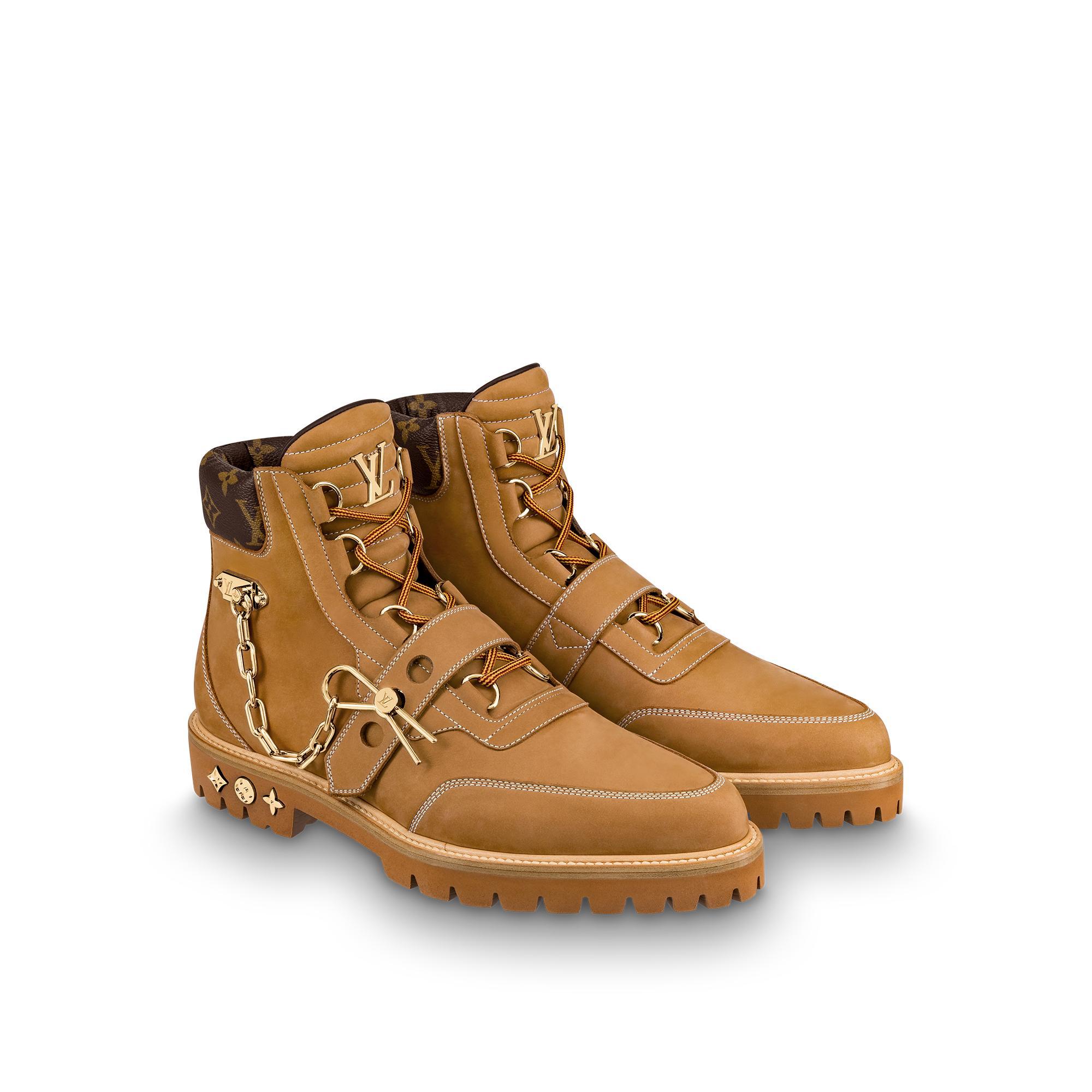 유럽직배송 루이비통 LOUIS VUITTON LV Creeper Ankle Boot 1A54DN