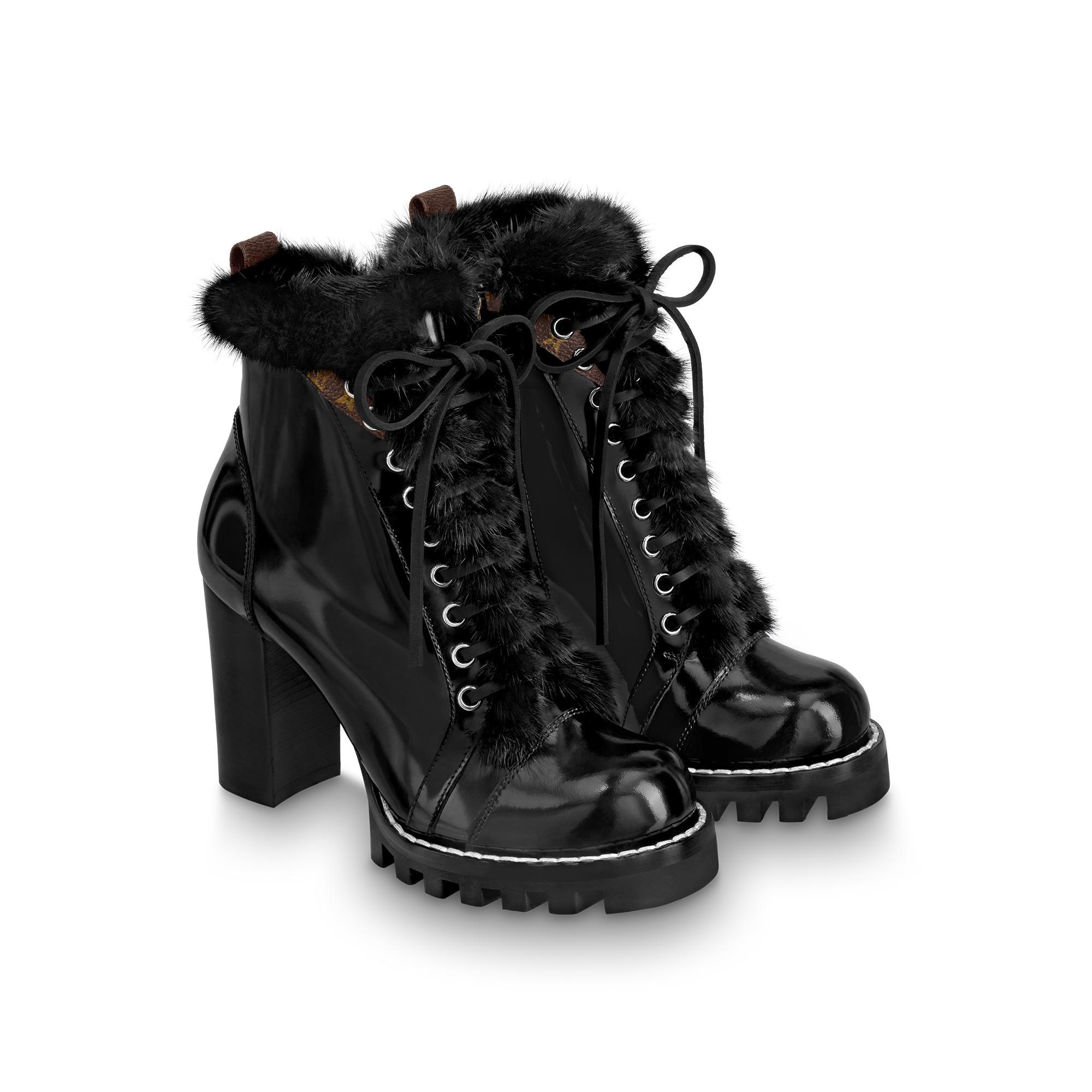유럽직배송 루이비통 LOUIS VUITTON Star Trail Ankle Boots 1A5MWY