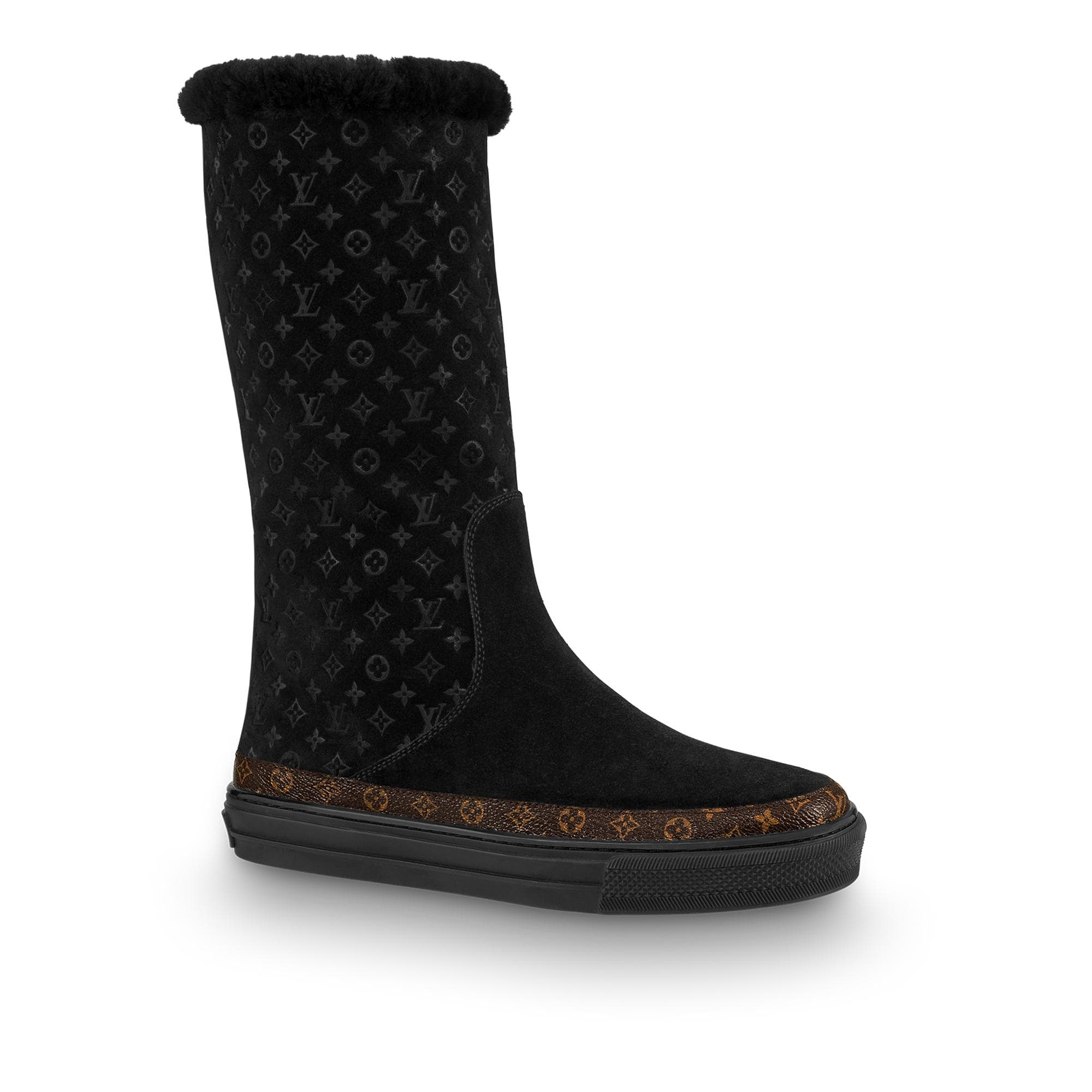 유럽직배송 루이비통 LOUIS VUITTON Snowball Flat Half Boot 1A4FF5