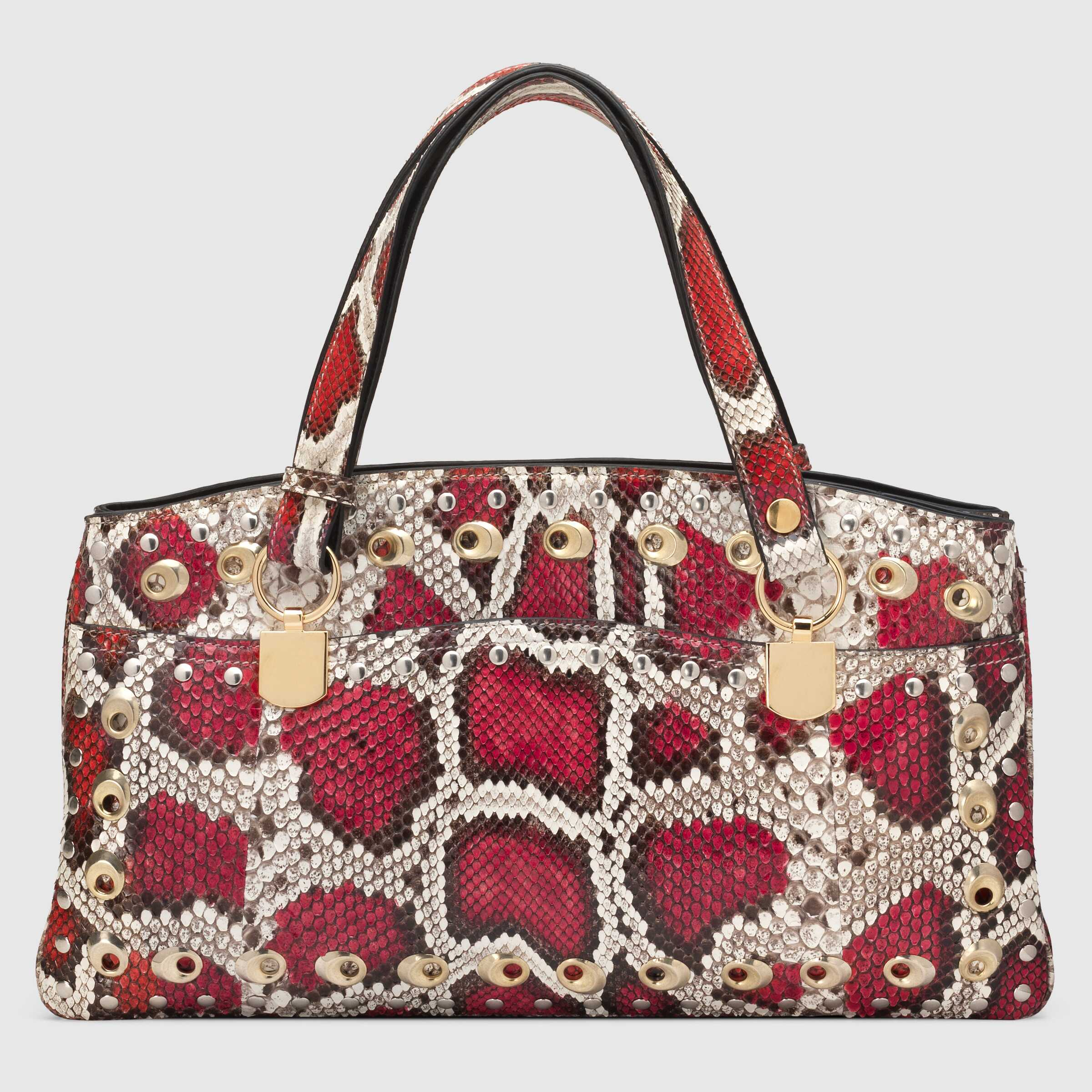 유럽직배송 구찌 GUCCI Arli large python top handle bag 550130LXOCX9048