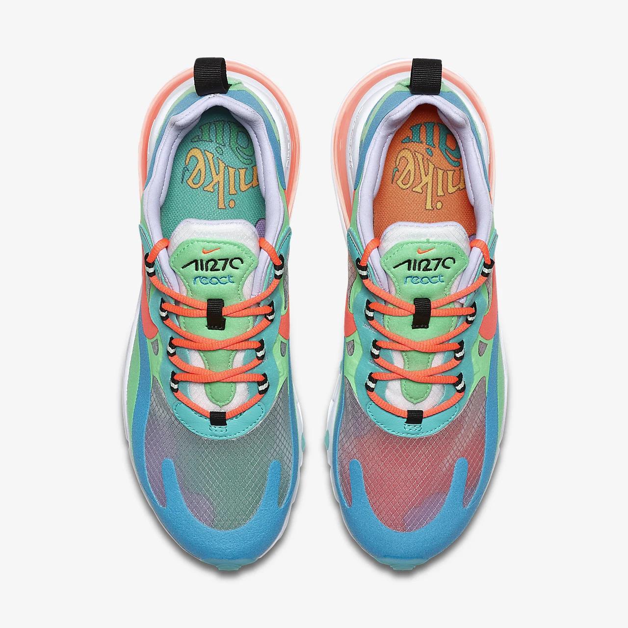 """유럽직배송 나이키 NIKE Nike Air Max 270 React (""""Psychedelic Movement"""") Women's Shoe AT6174-300"""