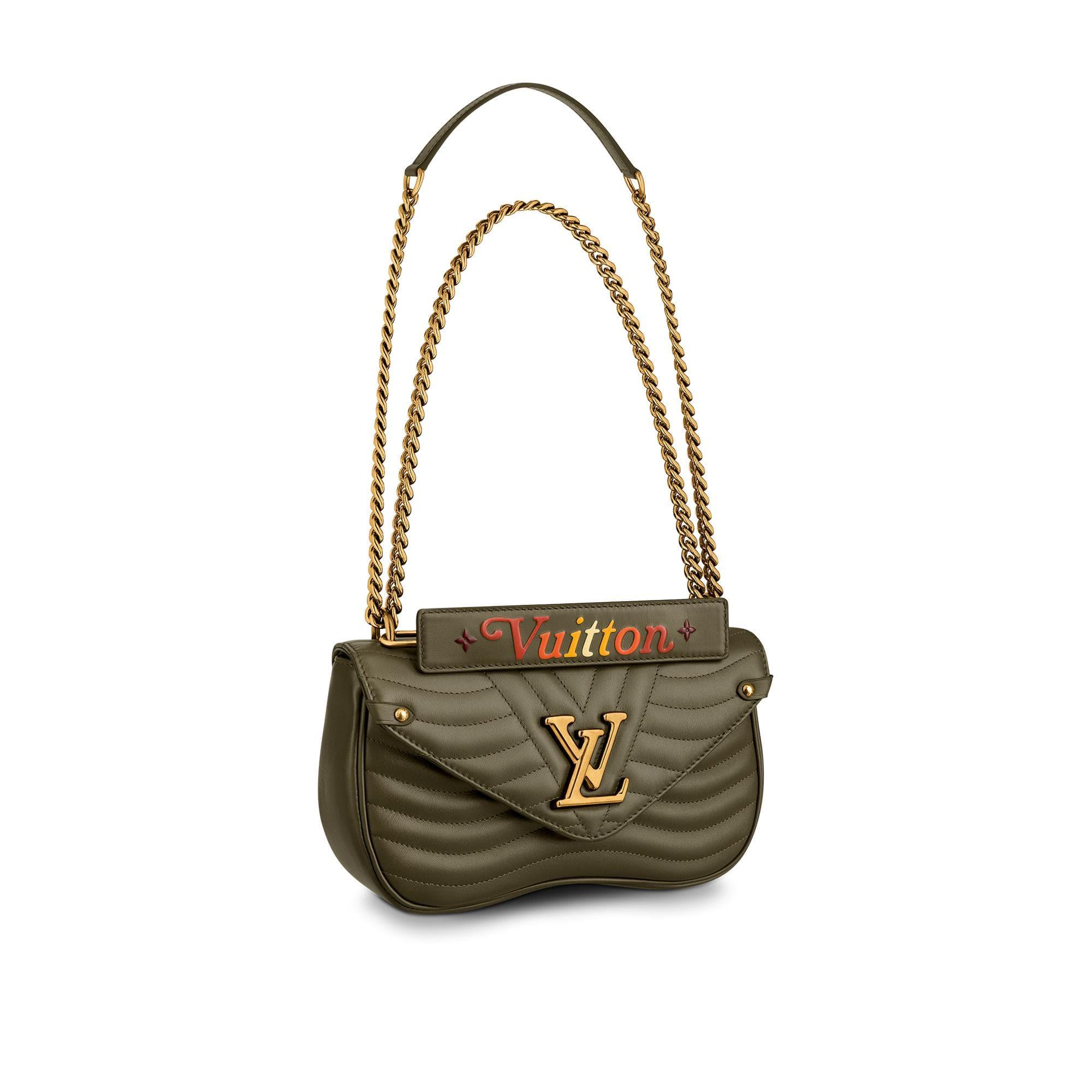 유럽직배송 루이비통 LOUIS VUITTON Louis Vuitton New Wave Chain Bag MM M55383