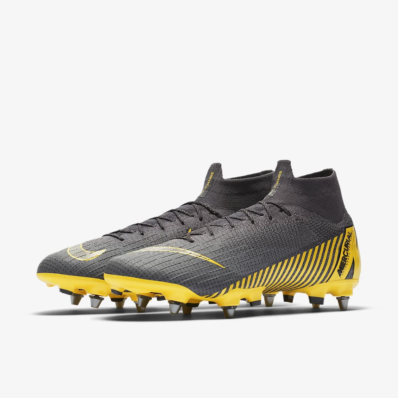 유럽직배송 나이키 NIKE Nike Mercurial Superfly 6 Elite SG-Pro Anti-Clog Traction Soft-Ground Pro Football Boot AH7421-071
