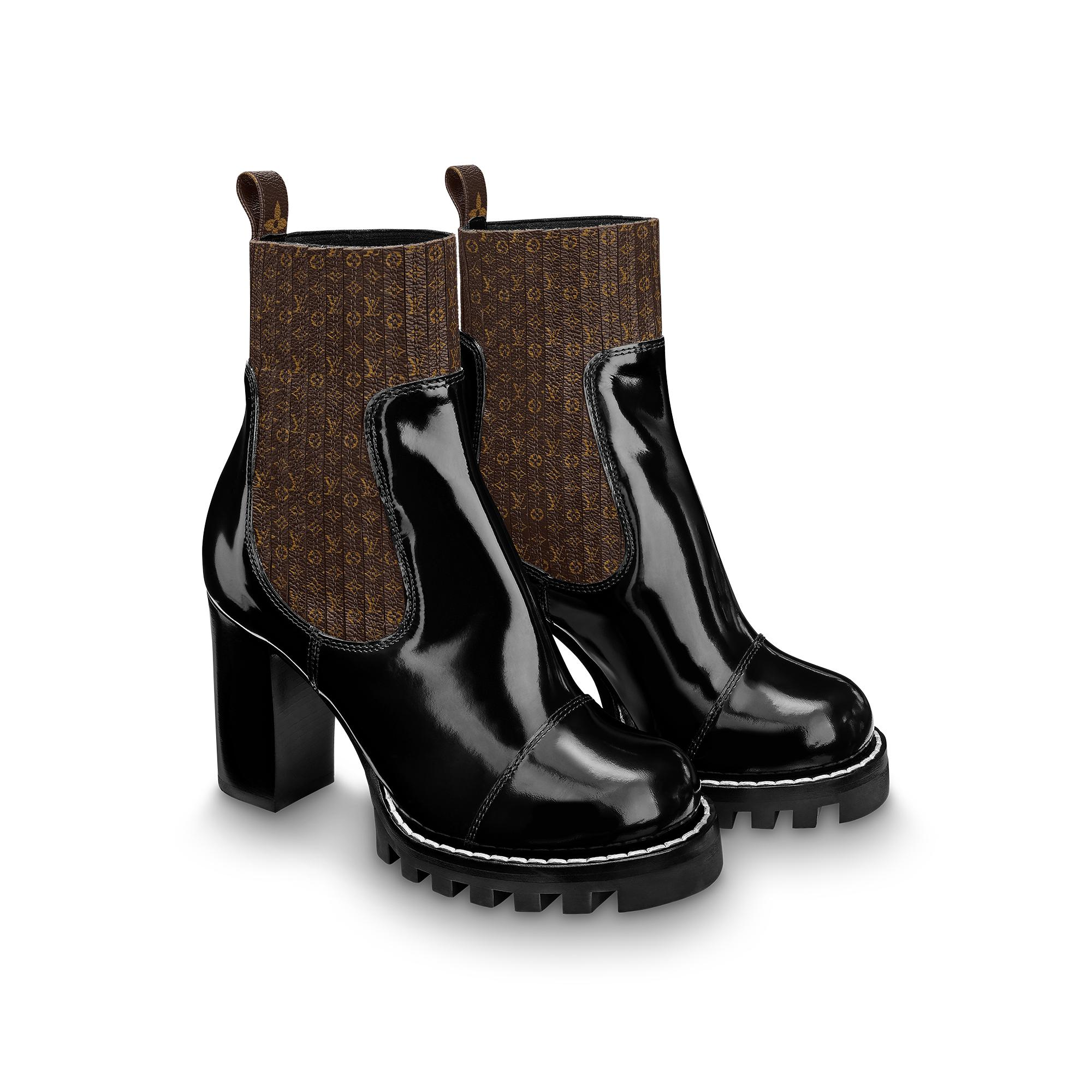 유럽직배송 루이비통 LOUIS VUITTON Star Trail Ankle Boots 1A63TQ