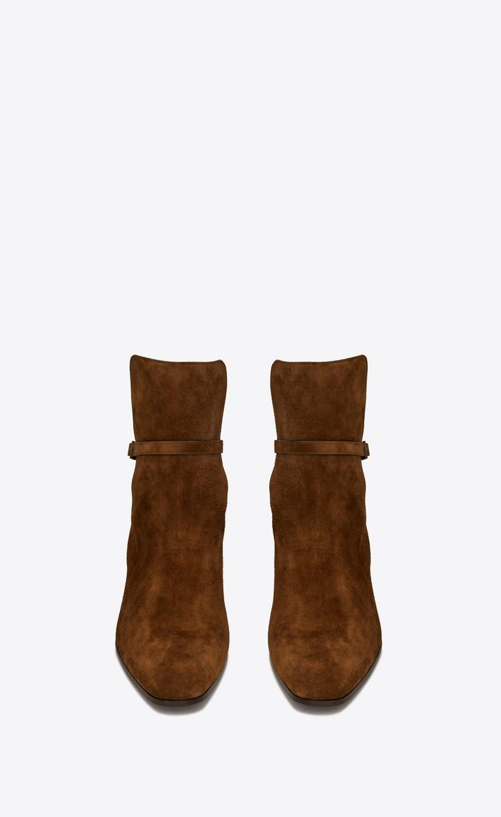 유럽직배송 입생로랑 SAINT LAURENT CLEMENTI buckle boots in suede 5865520LI002330