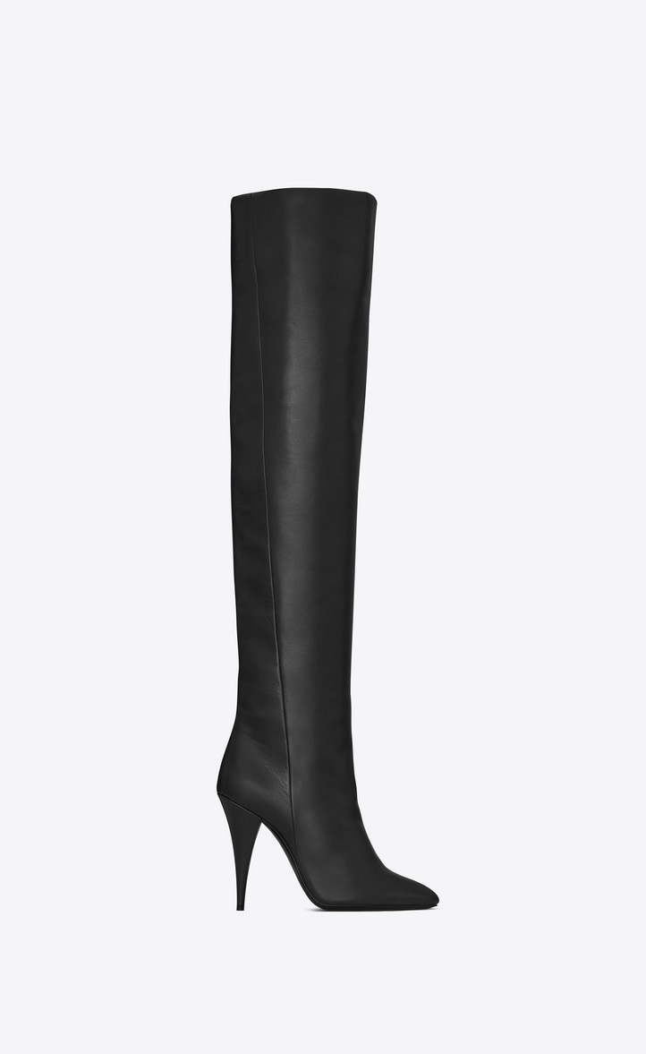 유럽직배송 입생로랑 SAINT LAURENT KIKI boot in smooth leather 5916441K4001000