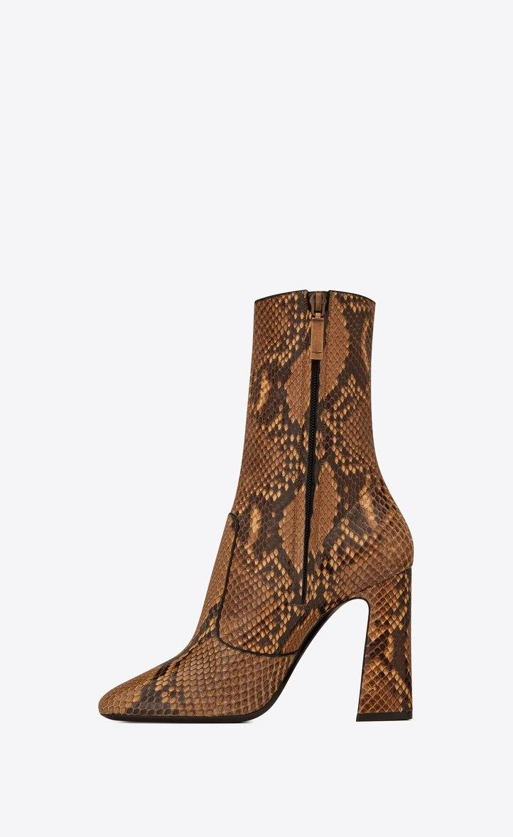유럽직배송 입생로랑 SAINT LAURENT MADDIE boots in python 606295LX1007019