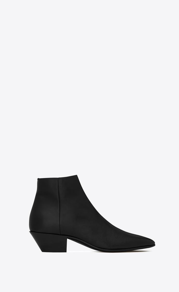 유럽직배송 입생로랑 SAINT LAURENT JONAS zippered boots in smooth leather  5819561G5001000