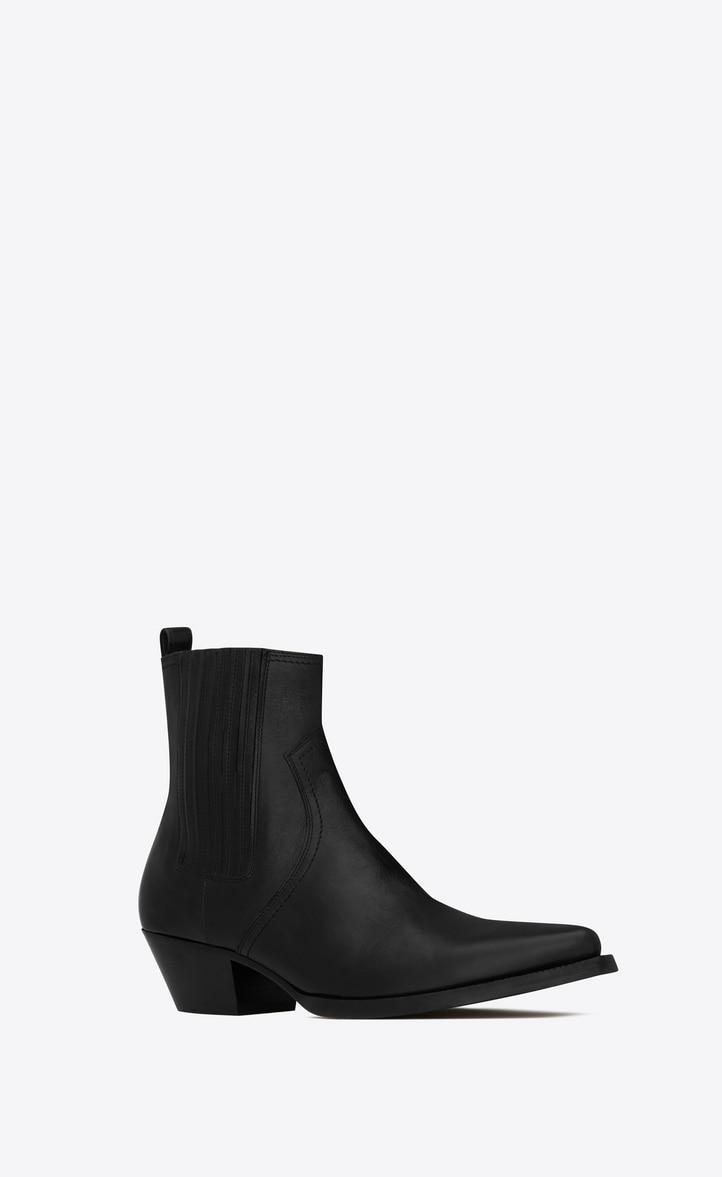유럽직배송 입생로랑 SAINT LAURENT LUKAS Chelsea boots in kangaroo-look leather  57968500E001000