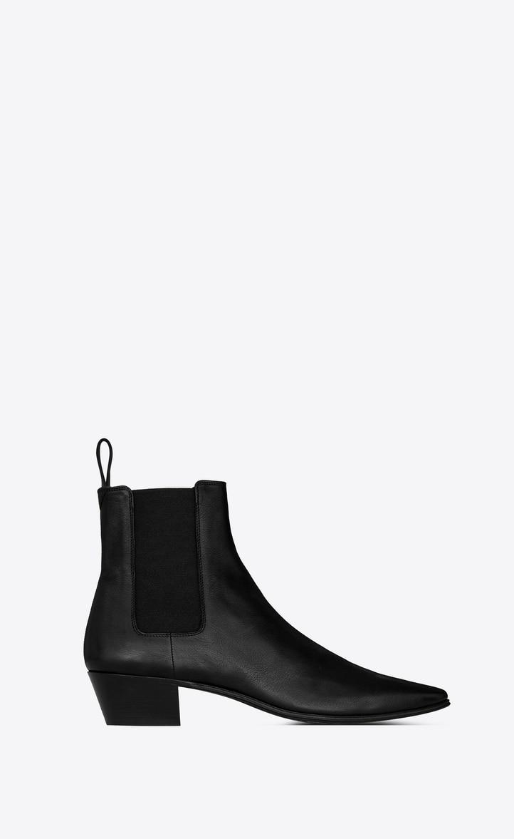 유럽직배송 입생로랑 SAINT LAURENT DYLAN chelsea boots in smooth leather 6024651N6001000