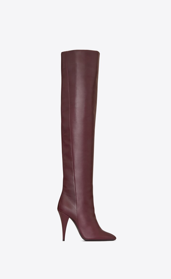 유럽직배송 입생로랑 SAINT LAURENT KIKI boot in smooth leather 5916441K4005117