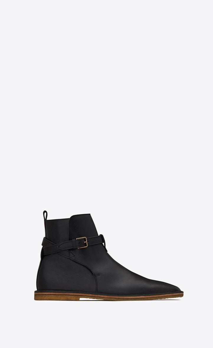 유럽직배송 입생로랑 SAINT LAURENT NINO leather jodhpur boots  5887371FT001000