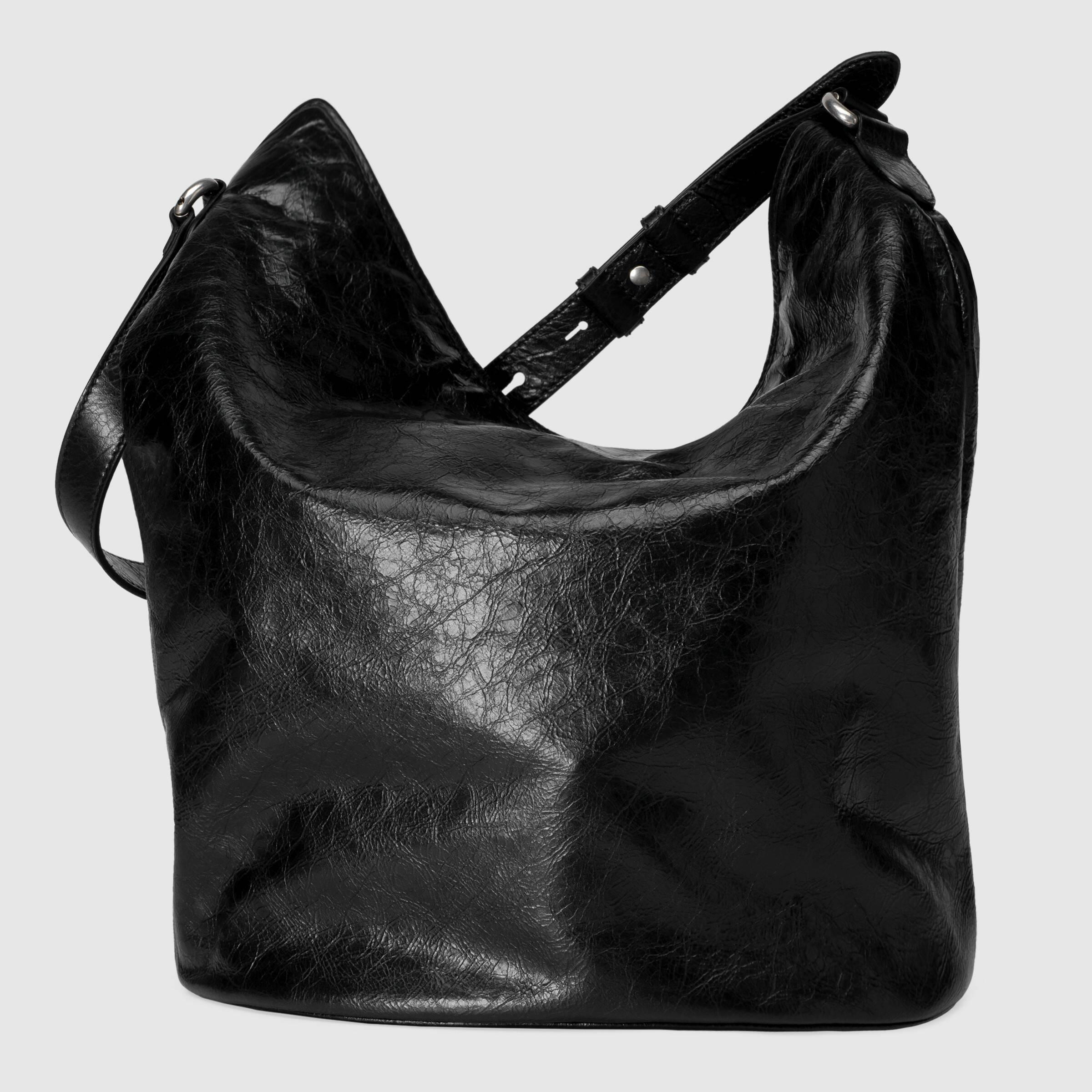 유럽직배송 구찌 GUCCI Leather hobo shoulder bag 5980861GZ0X1000