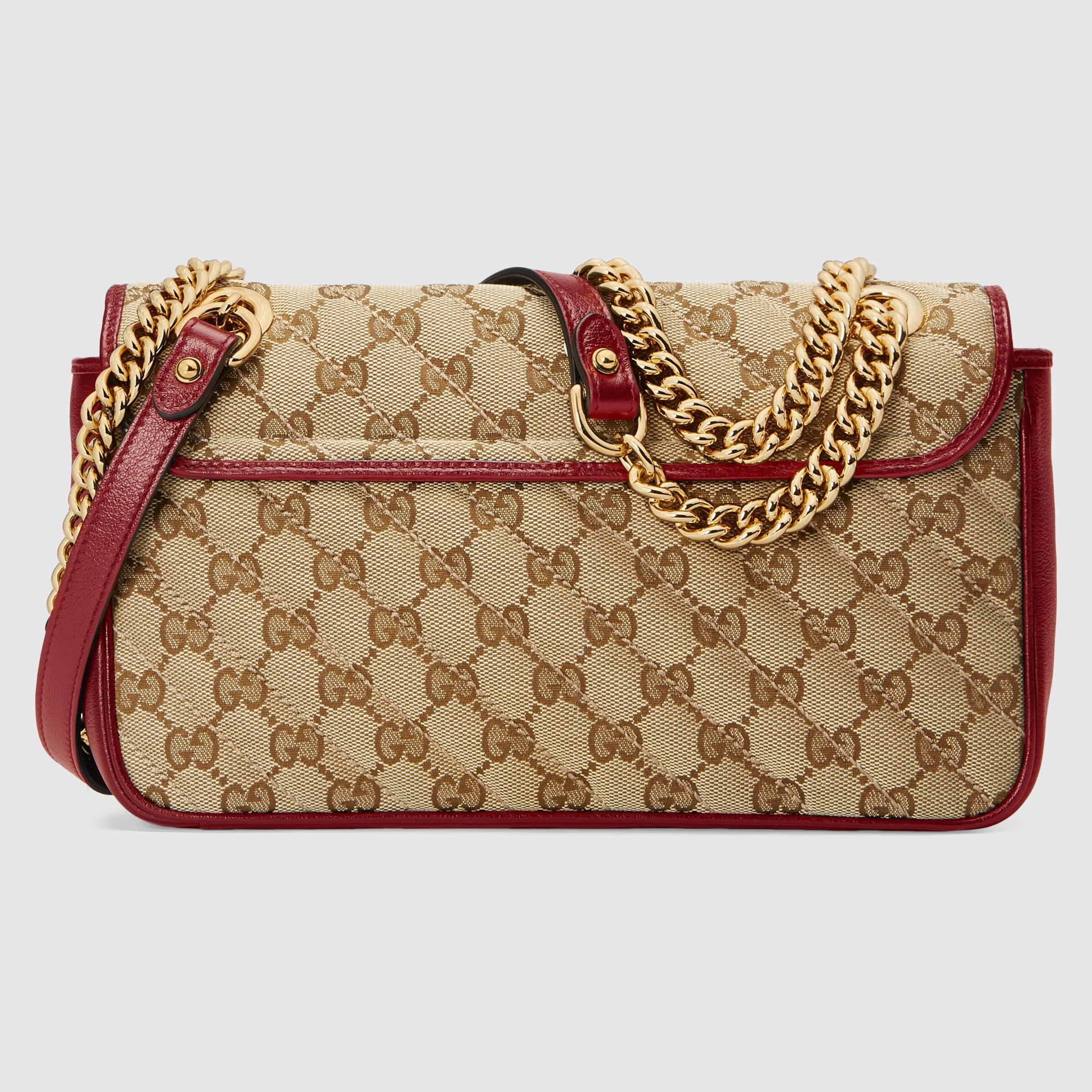 유럽직배송 구찌 GUCCI GG Marmont small shoulder bag 443497HVKEG8561