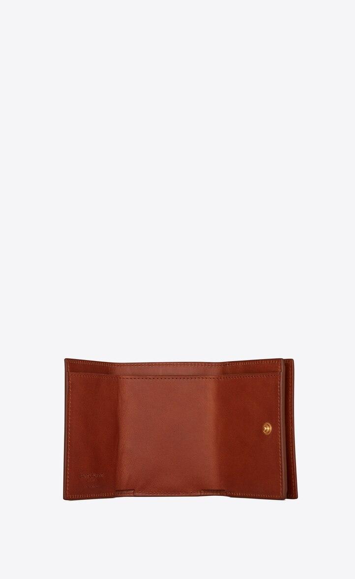 유럽직배송 입생로랑 SAINT LAURENT Tiny wallet in smooth leather 4599960TZ0J2626