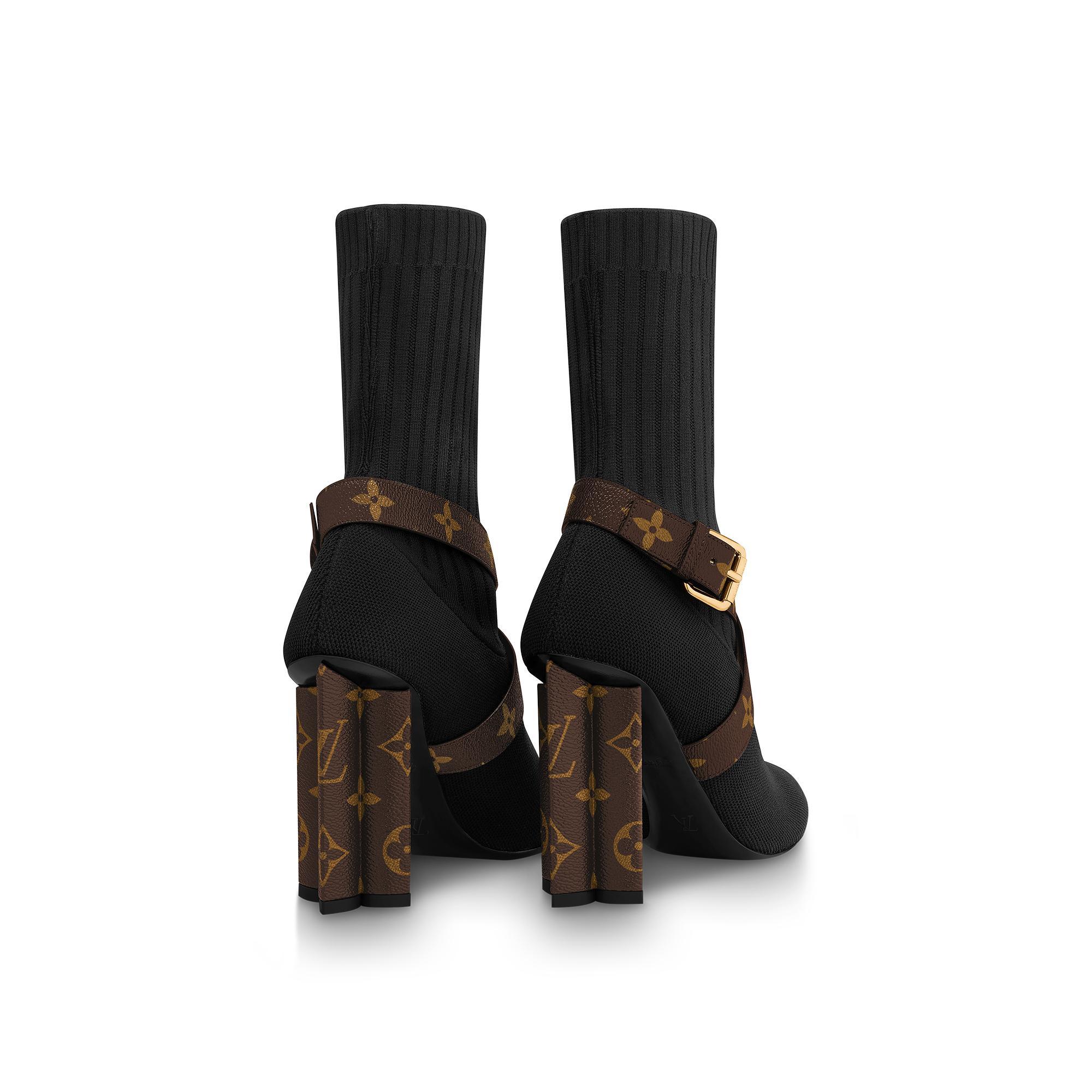 유럽직배송 루이비통 LOUIS VUITTON Silhouette Ankle Boots 1A66FE