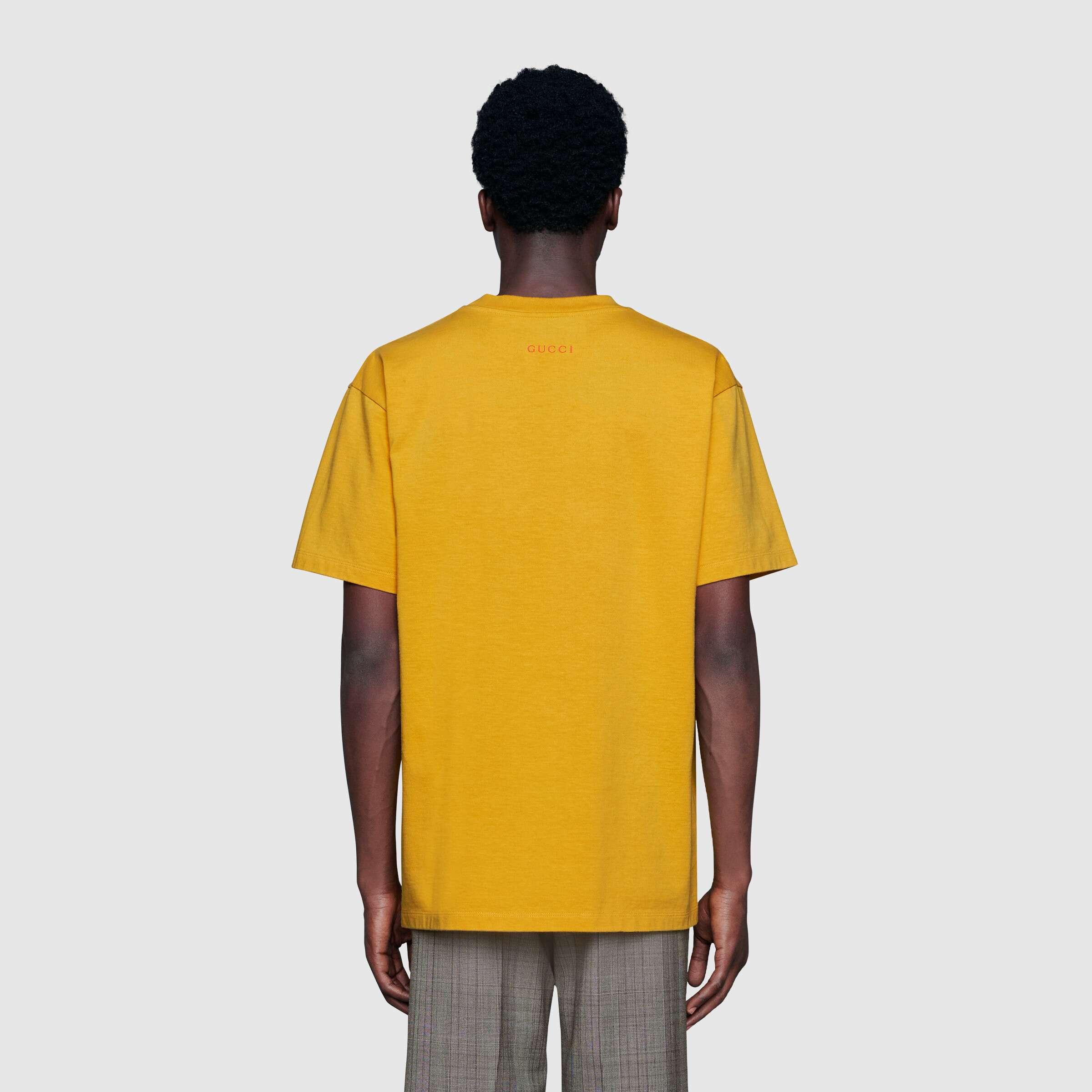 유럽직배송 구찌 GUCCI Anchor print oversize T-shirt 565806XJB237219