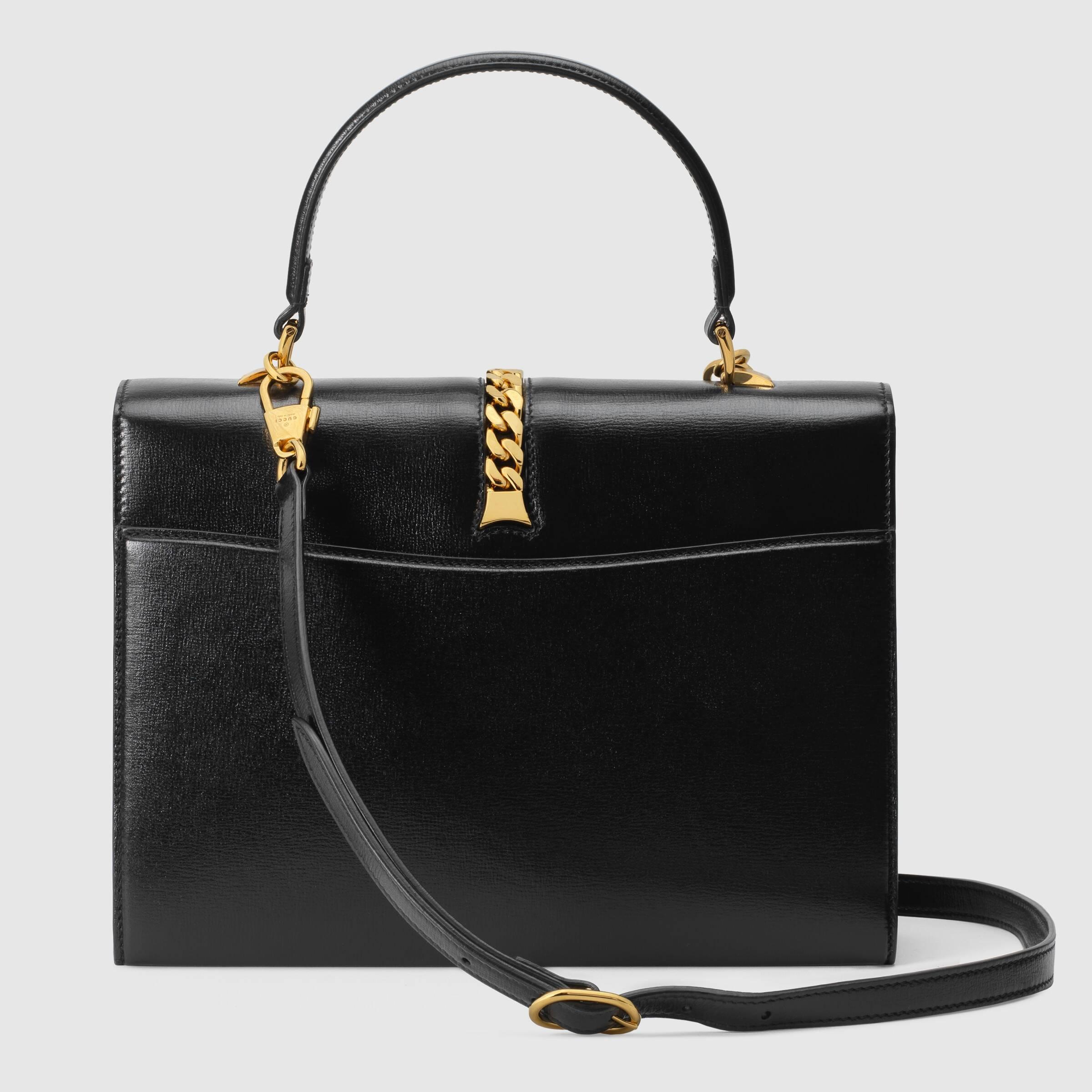 유럽직배송 구찌 토트백 GUCCI Sylvie 1969 small top handle bag 6027811DB0G1000