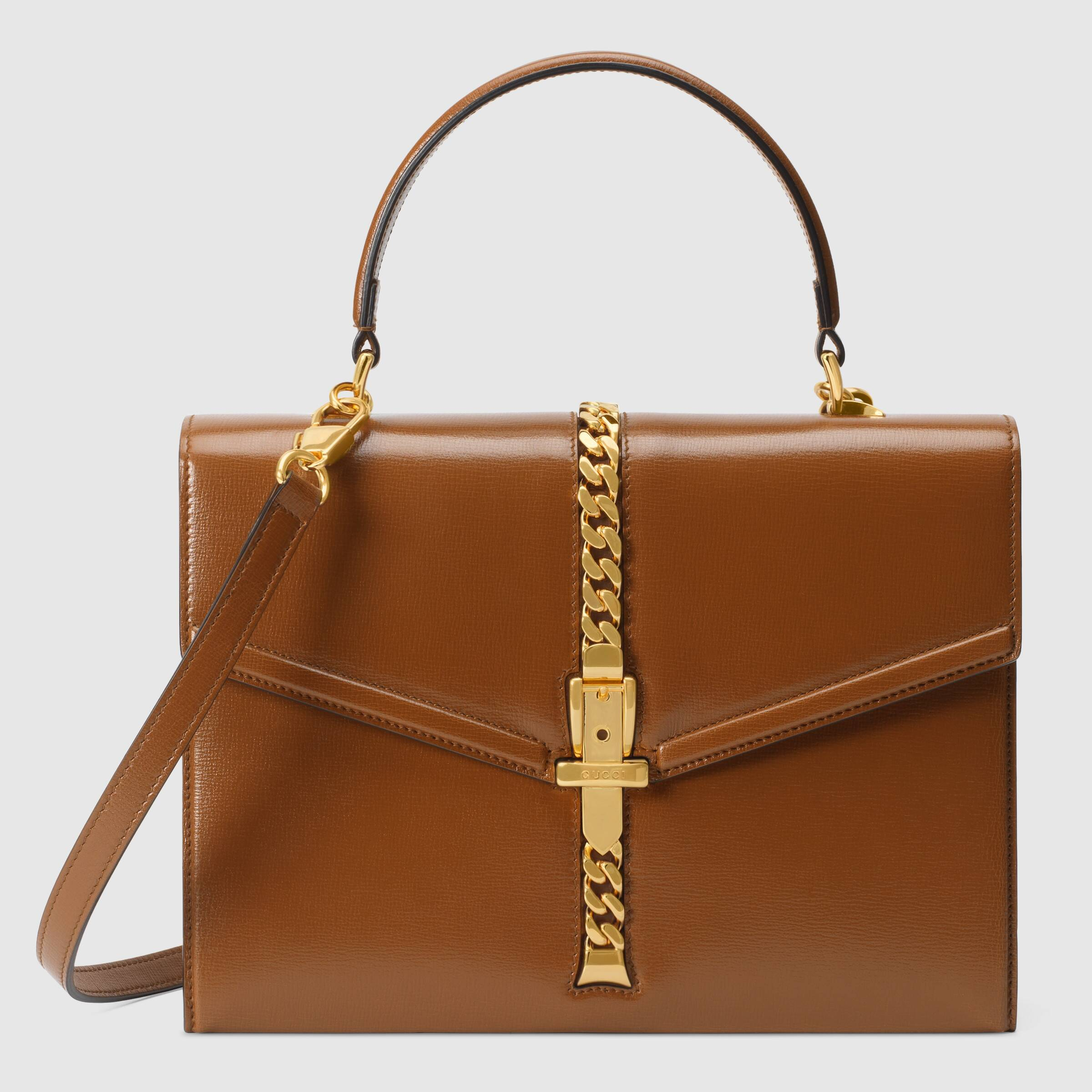 유럽직배송 구찌 토트백 GUCCI Sylvie 1969 small top handle bag 6027811DB0G2535