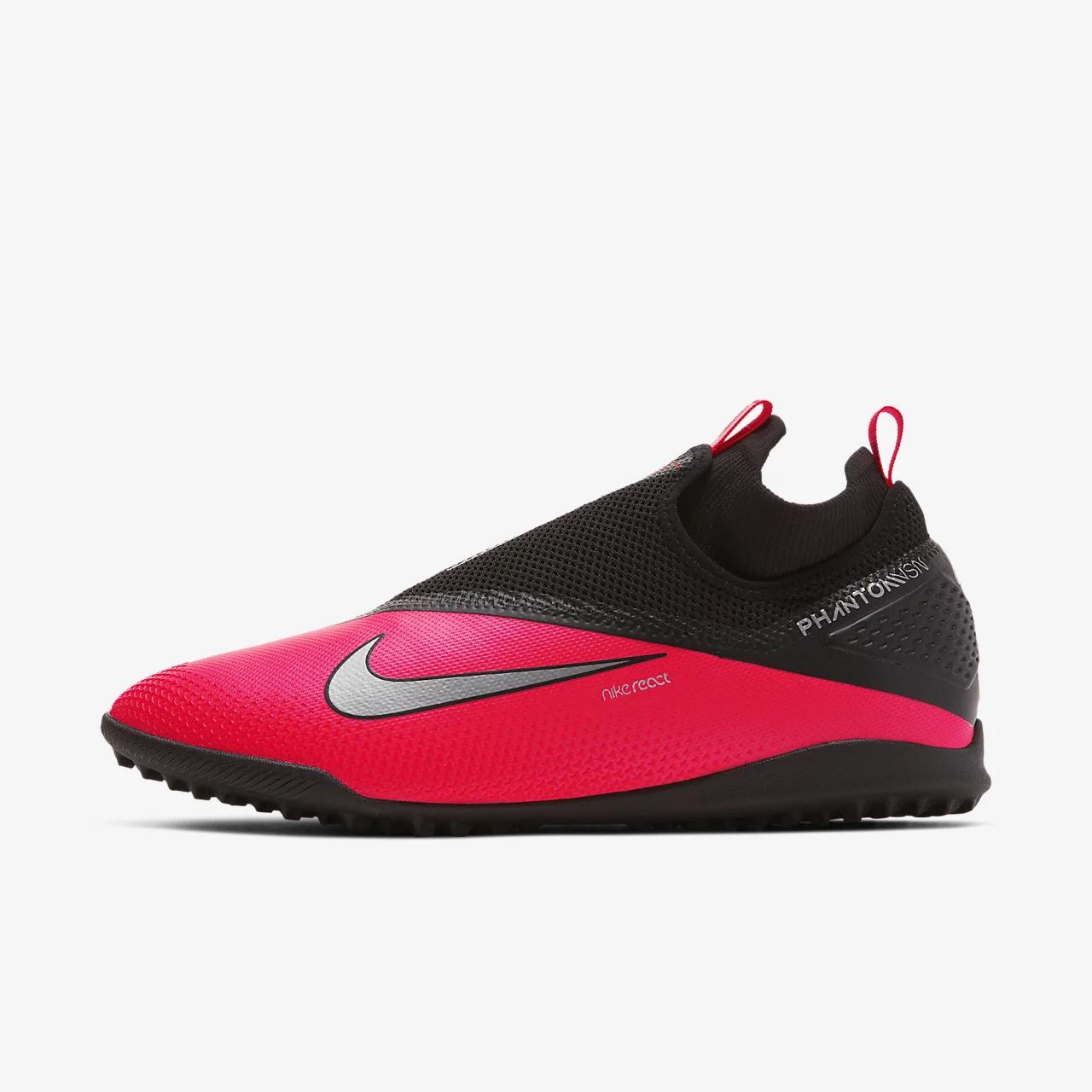 유럽직배송 나이키 NIKE Nike React Phantom Vision 2 Pro Dynamic Fit TF Artificial-Turf Football Shoe CD4174-606