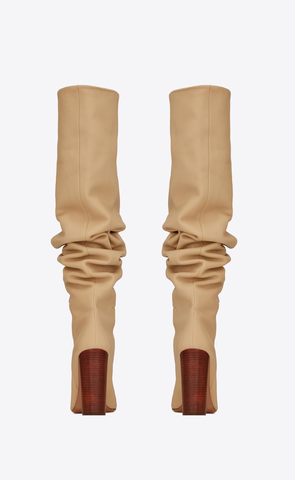 유럽직배송 입생로랑 SAINT LAURENT 76 over-the-knee boots in smooth leather 6201821F2009141