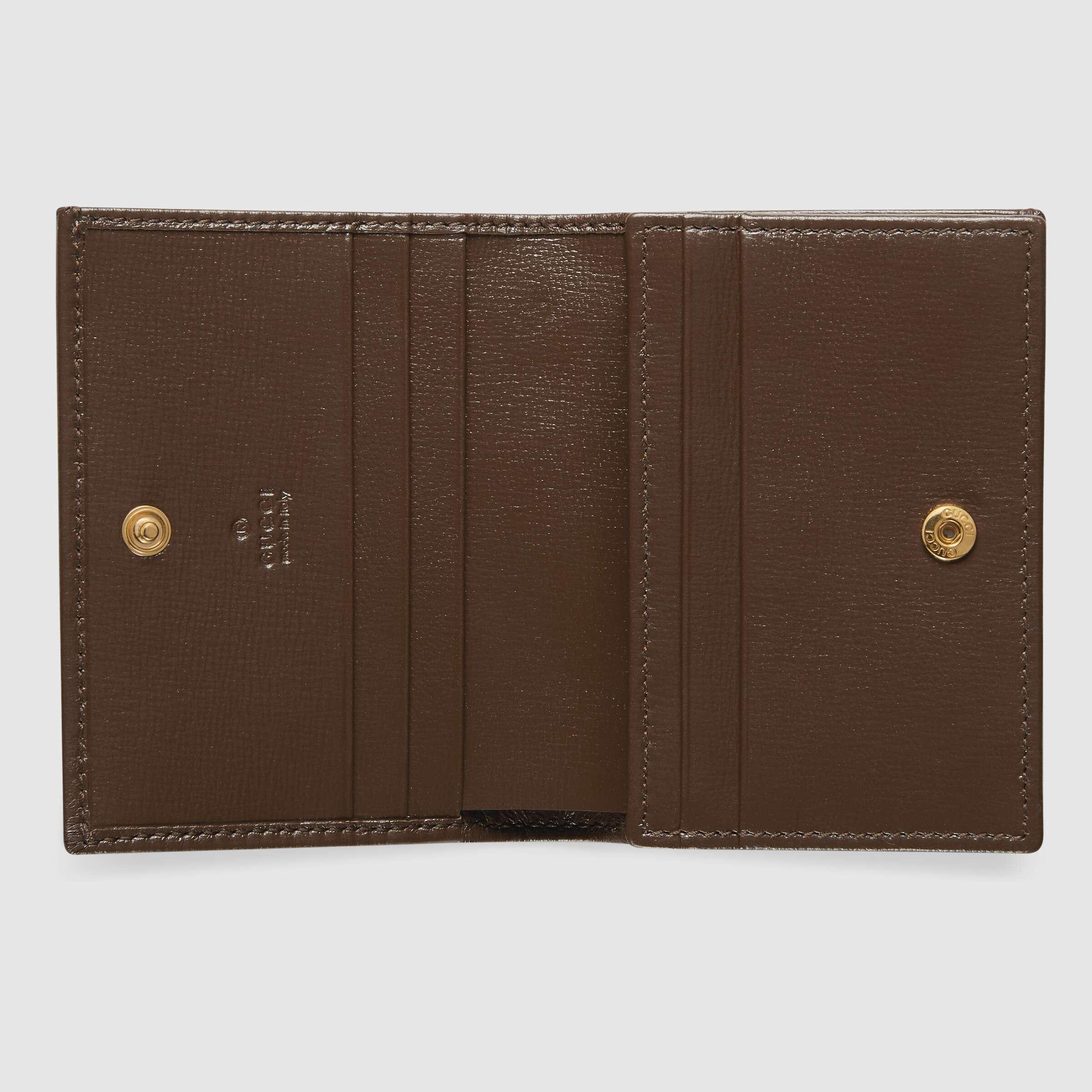 유럽직배송 구찌 카드케이스 GUCCI 1955 Horsebit card case wallet 62188792TCG8563