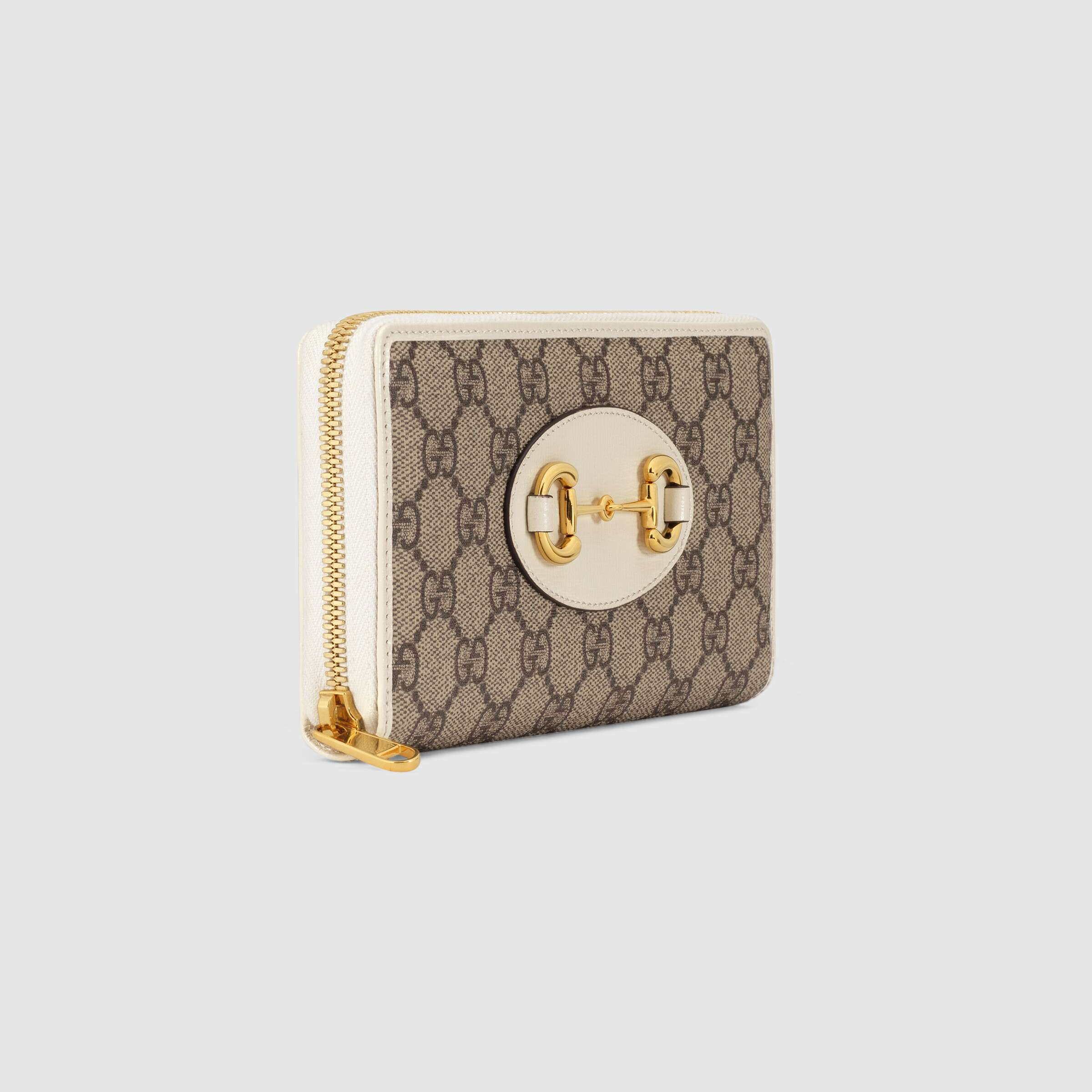유럽직배송 구찌 GUCCI 1955 Horsebit zip around wallet 62188992TCG9761