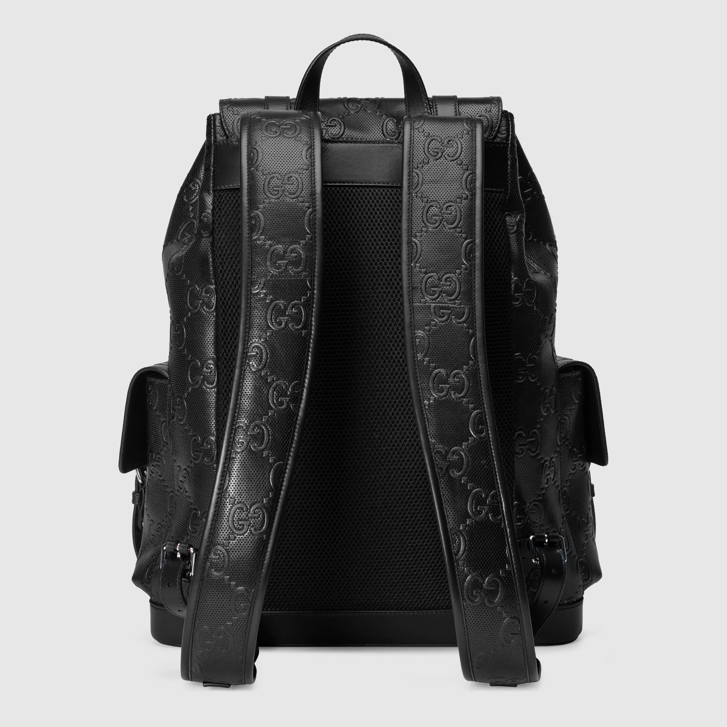 유럽직배송 구찌 GUCCI Gucci GG embossed backpack 6257701W3BN1000