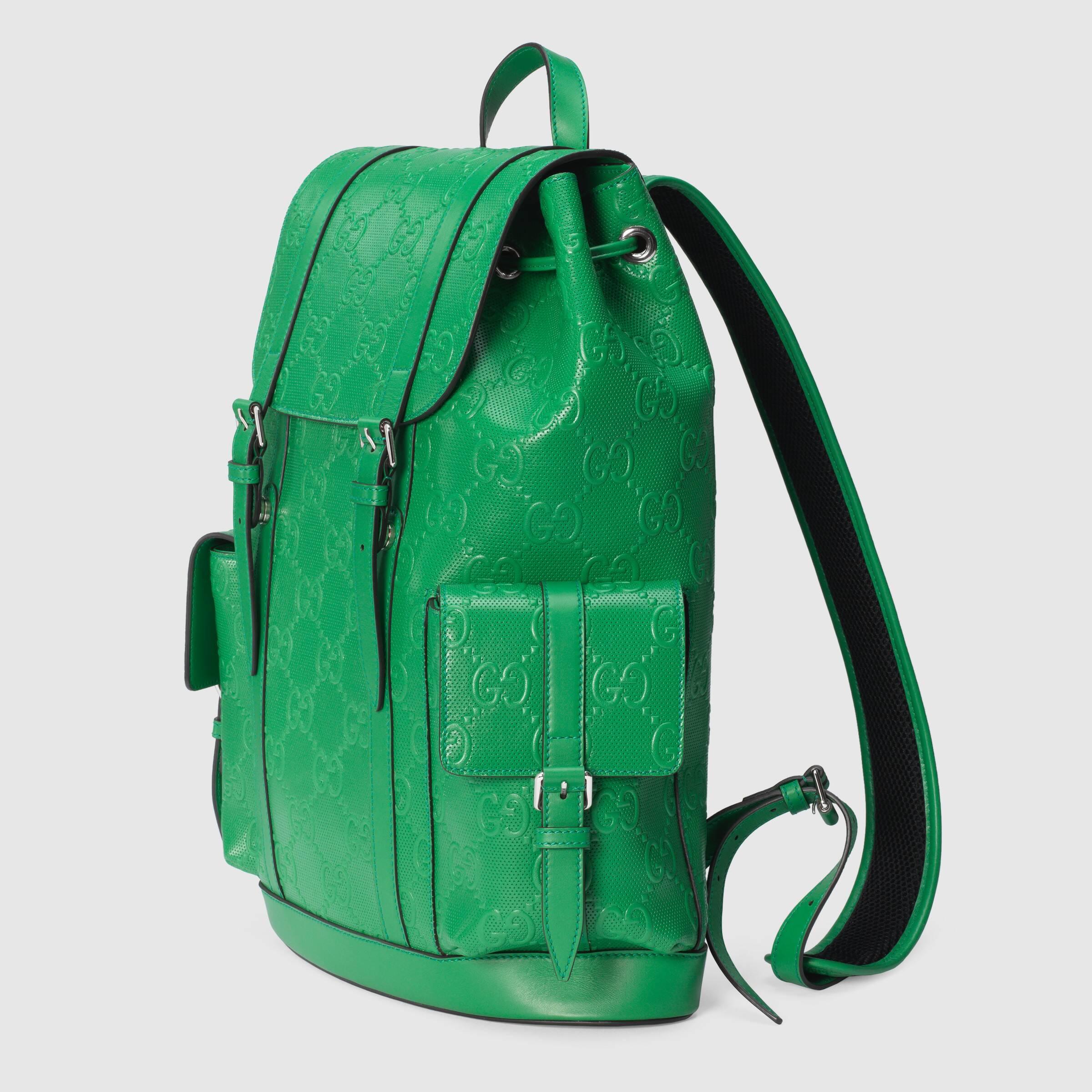 유럽직배송 구찌 GUCCI Gucci GG embossed backpack 6257701W3BN3776