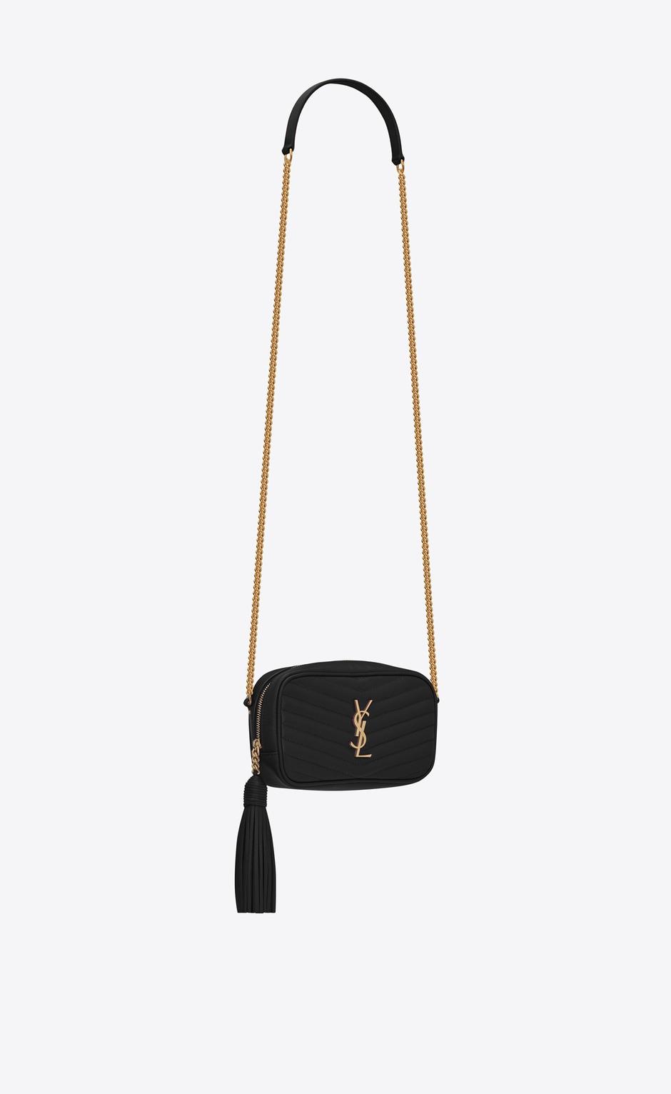 유럽직배송 입생로랑 SAINT LAURENT LOU Mini bag in matelassé grain de poudre embossed leather  6125791GF011000