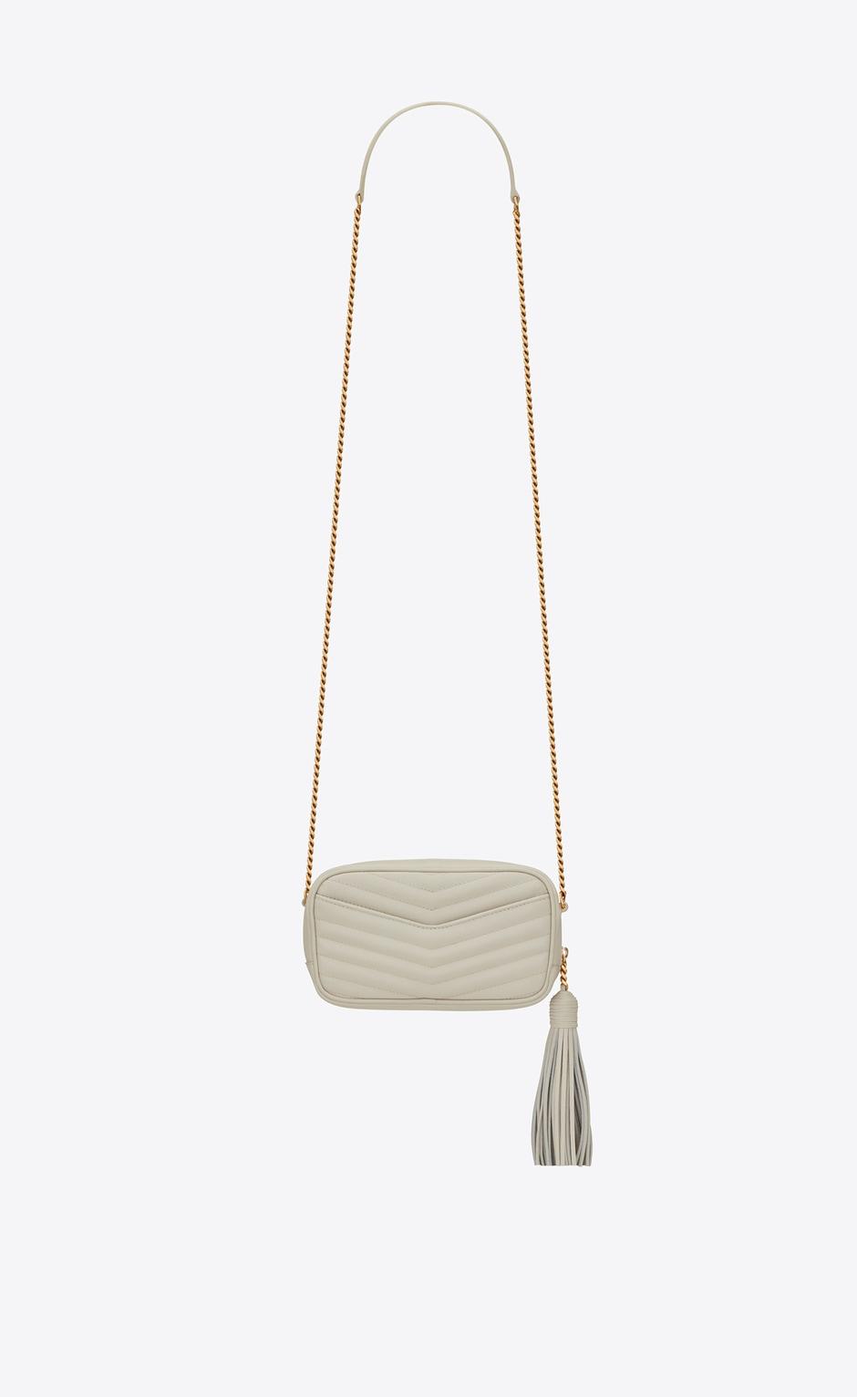 유럽직배송 입생로랑 SAINT LAURENT LOU Mini bag in matelassé grain de poudre embossed leather  6125791GF019207