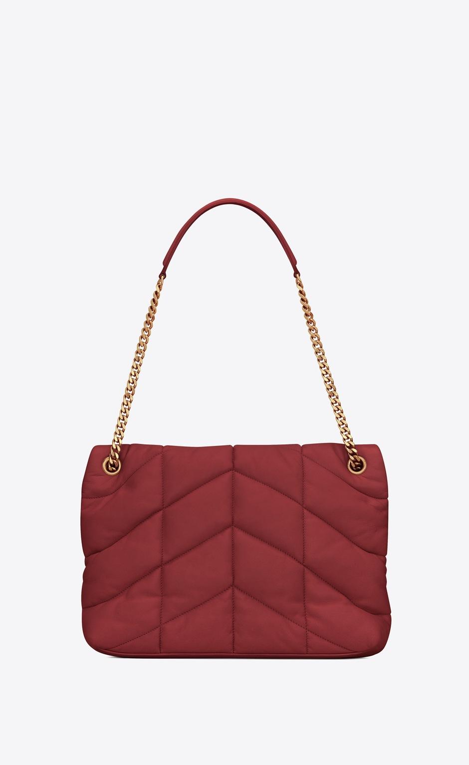 유럽직배송 입생로랑 SAINT LAURENT LOULOU PUFFER Medium bag in quilted lambskin 5774751EL076008