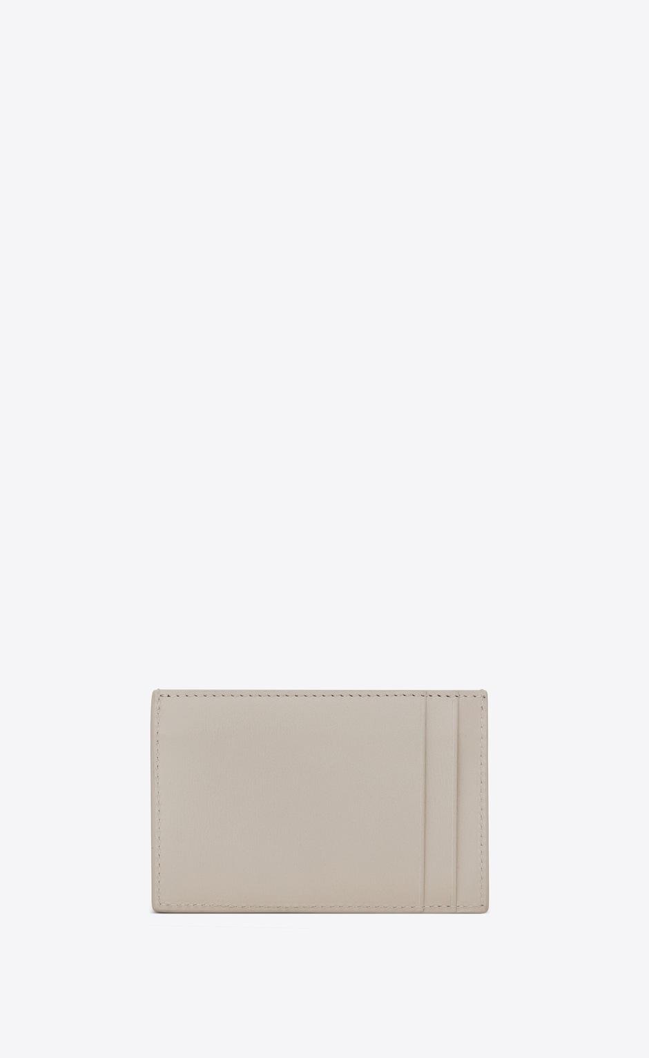 유럽직배송 입생로랑 SAINT LAURENT TINY MONOGRAM card case in smooth leather 63526402G0J9207